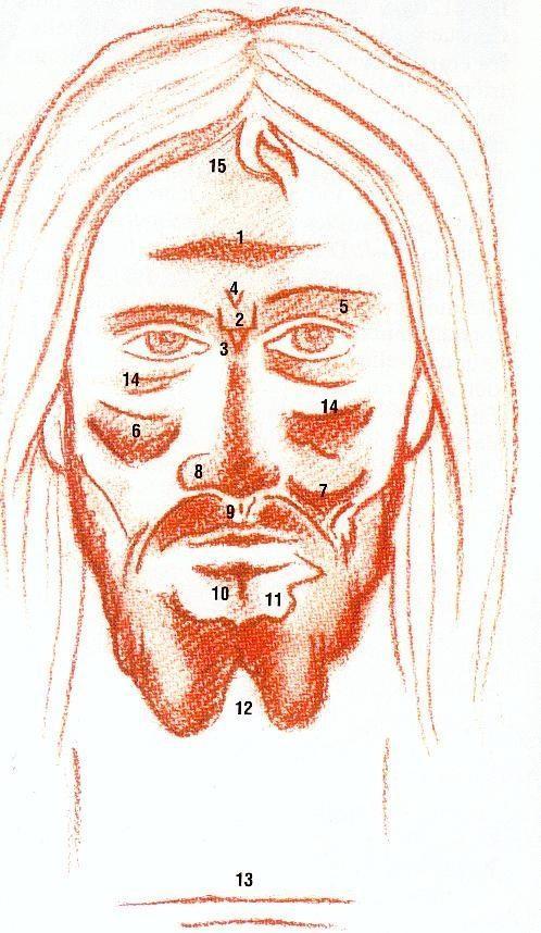 Est ce le visage de jsus sur le linceul de turin les icones de jsus compar au suaire de turin fandeluxe Images